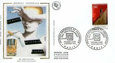 FDC - FRANCE 2908 - JOURNEE NATIONALE ANTI TOXICOMANIES
