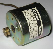 Canon DC Motor with Pulley - 12 V - 3800 RPM - Ultra Quiet Cassette Motor