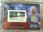 Panini Century Collection Astronaut Al Worden variant swatch numbered 052/100!