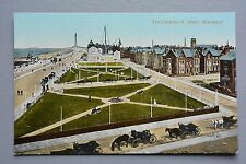 R&L Postcard: South Shore Gardens Blackpool, Horse & Carriage