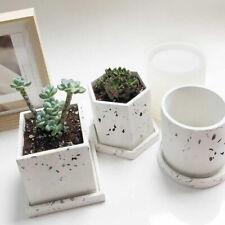 Flowerpot Beton Silikonform Pflanzen Round Pen Container Gips Gipsform Craft DIY
