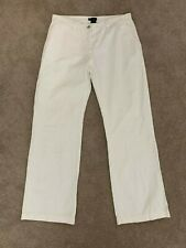 GANT Womens White Pants Size 30 Made in Italy Casual Corporate Everyday Pants