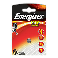 4 x Energizer 1216 3V Lithium Battery Coin Cell CR1216 DL1216 BR1216