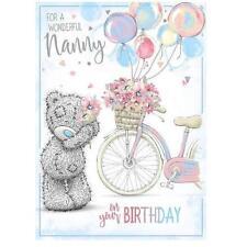 ME TO YOU FOR A WONDERFUL NANNY BIRTHDAY CARD TATTY TEDDY BEAR