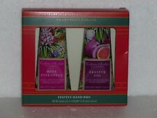 CRABTREE & EVELYN - Ultra-Moisturizing Hand Therapy - FESTIVE DUO - Rose ... FIG
