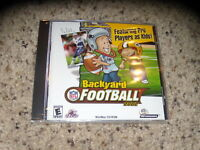Backyard Football 2002 (PC, 2001) New and Sealed in jewel case