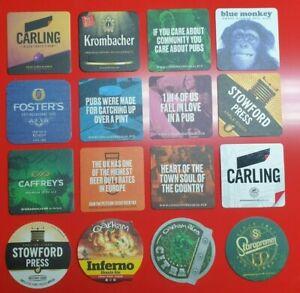100 x Beer Mats Bar Coasters Pub Bar Gifts