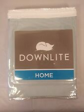 "Downlite Reading Wedge Pillow Cover Light Blue / Greenish 18"" x 36"" x 12"" New"