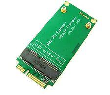 ASUS EEE PC 3x7cm MINI PCI-E SATA a 3x5cm MSATA SSD ADATTATORE CONVERTITORE CARD