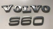 VOLVO S60 REAR BADGE EMBLEM LOGO 2.20cm HIGH (D42)