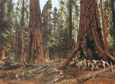 """""""In the Land of the Giants"""" Paul Calle Masterwork 52"""" Giclee Canvas"""