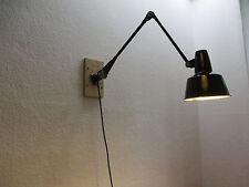 Original RADEMACHER Werkstattlampe Modell 163-62 Wandlampe Tischlampe Bauhaus
