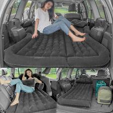 Car Air Bed Travel Inflatable Mattress Back Seat Cushion Black Outdoor Sofa Pad