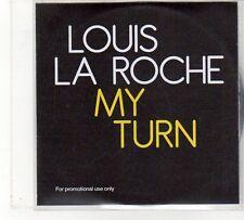 (FU916) Louis La Roche, My Turn - 2010 DJ CD