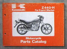 KAWASAKI Z440 1981 - Workshop Parts Manual for Z 440 KZ440 Owners Service Repair