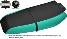 Negro Y Verde Brillante Personalizado Se Ajusta Kawasaki 750 XI 92-97 Vinilo Cubierta de asiento + Correa