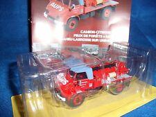 N° 14 UNIMOG 404  Pompier Citerne pour Feux de Forêts Moyen  AUPS  1/43 Neuf