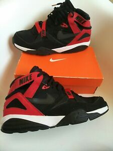 Nike air max  Men's Trainers Size 12 authentic 100% black red jordan style