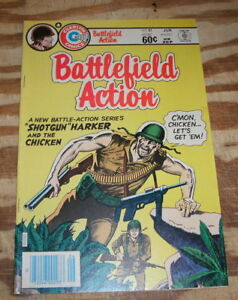 Battlefield Action #81 near mint plus 9.6