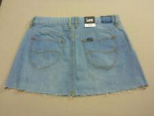 Lee Women's Lola Womens Skirt Cotton Womens Jeans Blue 12