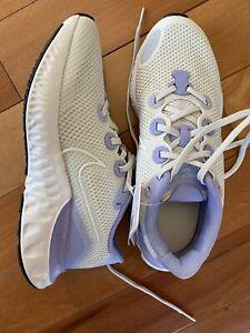Nike Renew Girls Kids Running Lilac/White Shoes Footwear size 3.5