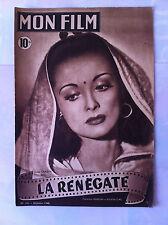 """Mon Film n°102 du 28/07/1948 """"La Renégate"""" avec Louise Carletti"""