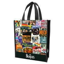 THE BEATLES - ALBUM COLLAGE - REUSABLE SHOPPING TOTE/GIFT BAG - MUSIC BAND 72173