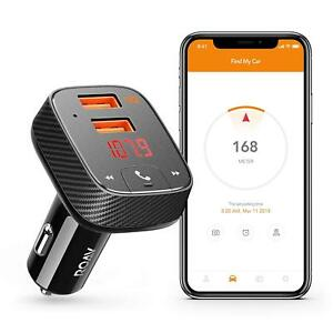 ROAV by Anker, SmartCharge Bluetooth Wireless FM Transmitter FREE EXP POST