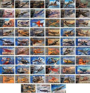 Revell 1/72 Planes Aircraft Military Plane Aeroplanes New Plastic Model Kit 1 72