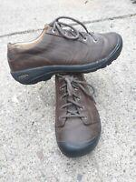 KEEN Mens Austin Shoes Waterproof Nubuck Leather Brown sz 47/13