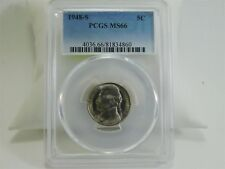 1948-S PCGS MS66 5C Jefferson Nickel Uncirculated Certified Coin MC1617