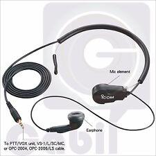 ICOM HS-97 Throat Microphone for IC-V85/E IC-T70A/E IC-V82 IC-E90 IC-T90A IC-G80
