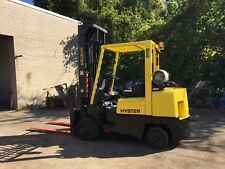 8000 Pound Hyster Forklift With Side Shift And 236 Inch Reach 4 Ways