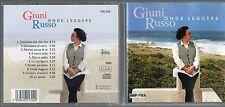 GIUNI RUSSO CD fuori catalogo ONDE LEGGERE 1996  Franco Battiato