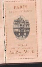 Paris et sus Environs (Offert par les Magasins) Paris France HC 1900s