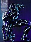 Hot Toys MMS485D24 Neon Tech Iron Man Mark IV DIECAST 1/6 / 2x Sealed /  Mint !!