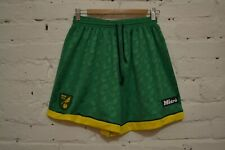 VINTAGE RARE NORWICH CITY 1996/1997 HOME FOOTBALL SOCCER SHORTS MITRE MENS 38/40