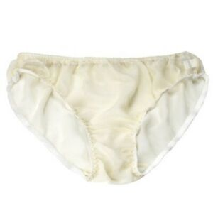 Womens 100% Silk Hipster Bikini Panties See Through Briefs Transparent Wholesale