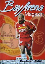 Programm 1999/00 Bayer 04 Leverkusen - SC Freiburg
