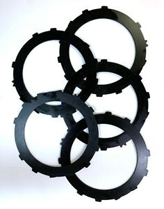 "TH400 Turbo 400 High Performance Forward Direct Kolene Steel Plate Set of 5 .90"""