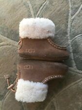UGG UGGS INFANT BABY GIRLS BOYS Brown BOOTS Size 2/3