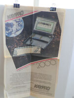 "ITHistory AD  (1985) KAYPRO ""2000 A NEW ERA IN BUSINESS COMPUTERS (USA TODAY)"