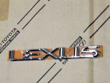 98-07 NEW LEXUS LX470 REAR TRUNK CHROME WORD EMBLEM 98 99 00 01 02 03 04 05 06