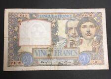 FRANCE  20 FRANCS SCIENCE ET TRAVAIL de 1941  ETAT : TB  Réf. P 4078