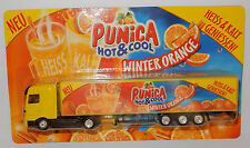 GRELL HO 1/87 CAMION REMORQUE TRUCK TRAILER MB MERCEDES ACTROS JUS FRUIT PUNICA