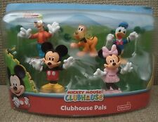 DISNEY MICKEY MOUSE CLUBHOUSE CLUBHOUSE PALS 5 FIGURE SET MINNIE GOOFY *NEW*