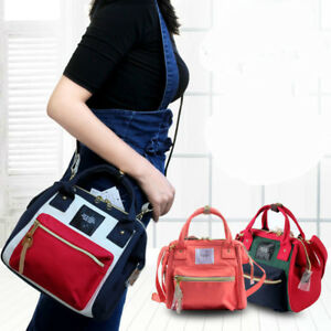 Japan Anello 4 way Backpack Shoulder Handle Canvas Bag Handbag Women Girls
