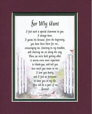 #66 Gift Present Poem For A Aunt