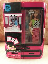 Mattel Barbie Fashionista ULTIMATE CLOSET Doll Furniture Pink Carrying Case NEW