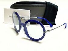 Authentic EMPORIO ARMANI EA4055 542587 Opal Blue/Grey Lens Sunglasses